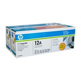 Genuine HP Q2612AD Black Toner Cartridge
