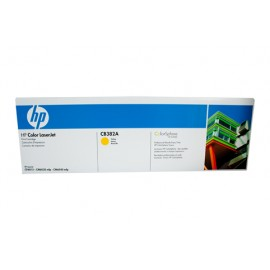 Genuine HP CB382A Yellow Toner Cartridge