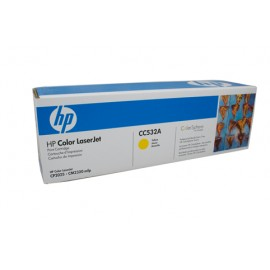 Genuine HP CC532A Yellow Toner Cartridge
