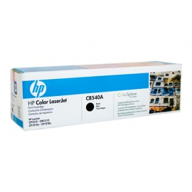 Genuine HP CB540A Black Toner Cartridge
