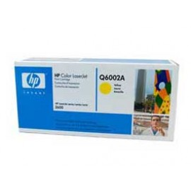 Genuine HP Q6002A Yellow Toner Cartridge