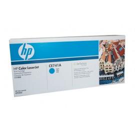 Genuine HP CE741A Cyan Toner Cartridge