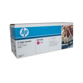 Genuine HP CE743A Magenta Toner Cartridge