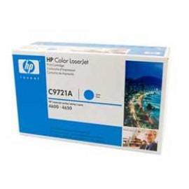 Genuine HP C9721A Cyan Toner Cartridge