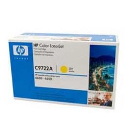 Genuine HP C9722A Yellow Toner Cartridge