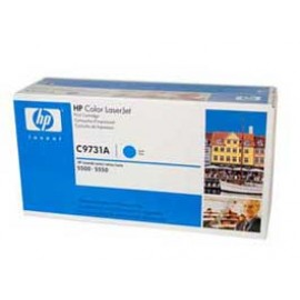 Genuine HP C9731A Cyan Toner Cartridge