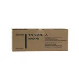 Genuine Kyocera TK-520C Cyan Toner Cartridge