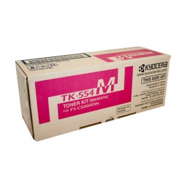 Genuine Kyocera TK-554M Magenta Toner Cartridge