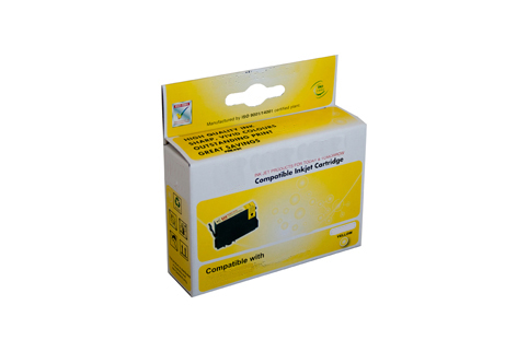 Compatible Lexmark 220XLY, 200XLY Yellow Ink Cartridge