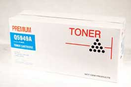Compatible HP #49A (Q5949A) Black Toner Cartridge
