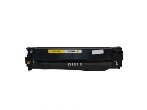 Compatible HP #131, Yellow Laser Cartridge, #131A Yellow (CF212A) Toner Cartridge