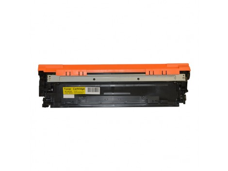 Compatible HP #650, Yellow Laser Cartridge, #650A Yellow (CE272A) Toner Cartridge