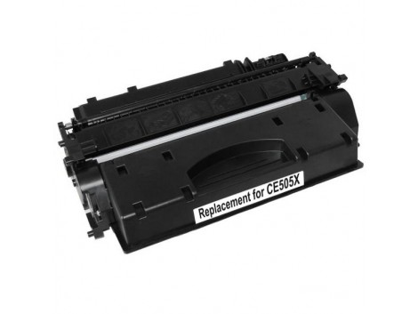 Compatible HP #05X, Mono Laser High Yield Cartridge, #05X (CE505X) High Yield Toner Cartridge