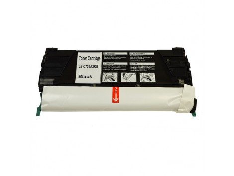Compatible Lexmark TK-734BK Toner Cartridge