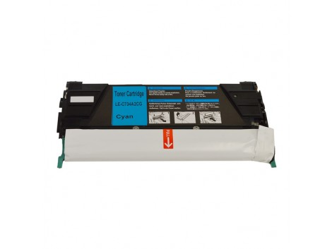 Compatible Lexmark TK-734C Toner Cartridge
