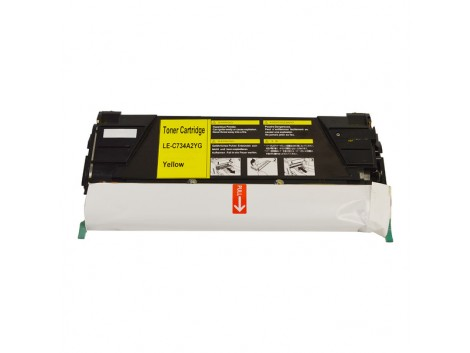 Compatible Lexmark TK-734Y Toner Cartridge