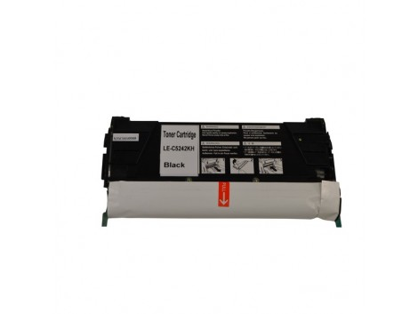 Compatible Lexmark C5240K Toner Cartridge