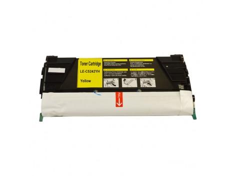 Compatible Lexmark C5240Y Toner Cartridge