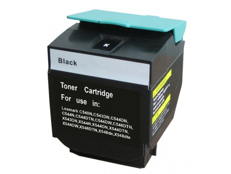 Compatible Lexmark C540BK Toner Cartridge