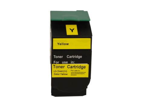 Compatible Lexmark C544Y Toner Cartridge