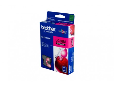 Genuine Brother LC-38M Magenta Ink Cartridge
