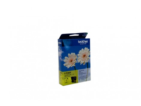 Genuine Brother LC-39Y Yellow Ink Cartridge