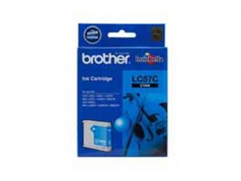 Genuine Brother LC-57C Cyan Ink Cartridge
