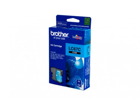 Genuine Brother LC-67C Cyan Ink Cartridge
