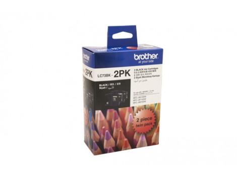Genuine Brother LC-73BK2PK Ink Cartridge