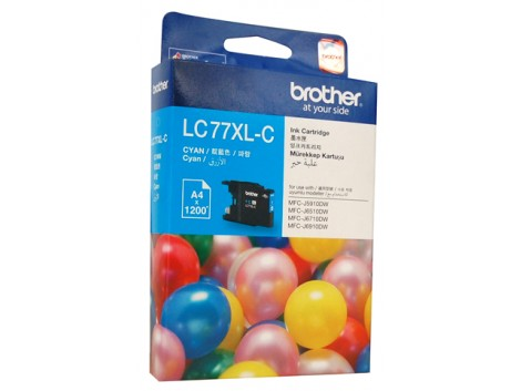 Genuine Brother LC-77XLC Ink Cartridge