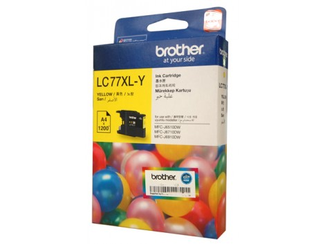 Genuine Brother LC-77XLY Ink Cartridge