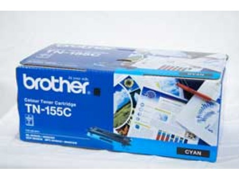 Genuine Brother TN-155C Cyan Toner Cartridge