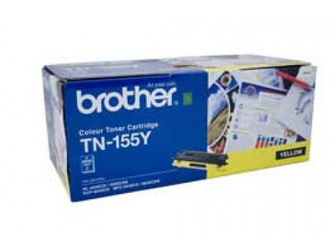 Genuine Brother TN-155Y Yellow Toner Cartridge