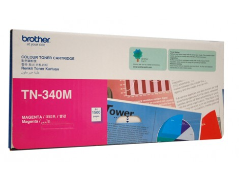 Genuine Brother TN-340M Magenta Toner Cartridge