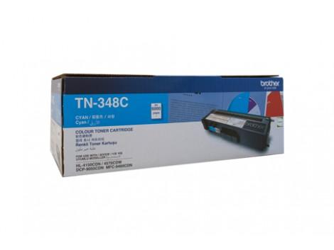 Genuine Brother TN-348C Cyan Toner Cartridge
