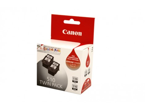Genuine Canon PG510-TWIN Black Ink Cartridge