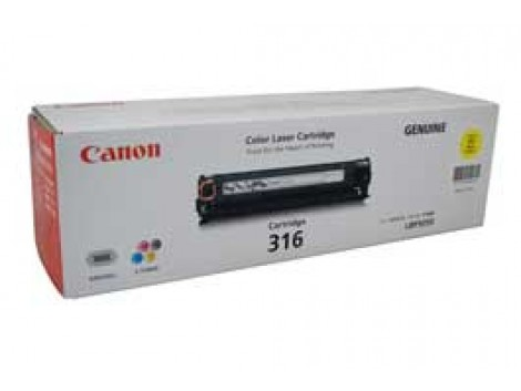 Genuine Canon CART316Y Toner Cartridge