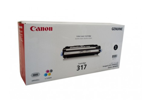 Genuine Canon CART317BK Toner Cartridge