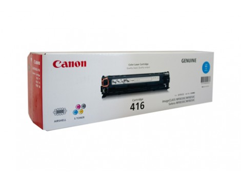Genuine Canon CART416C Toner Cartridge