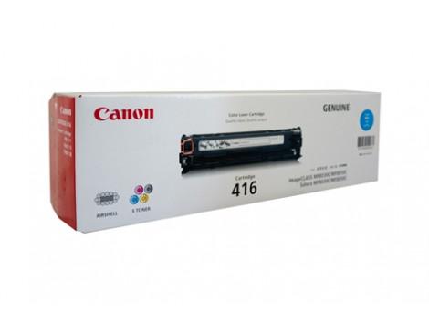 Genuine Canon CART416C Cyan Toner Cartridge