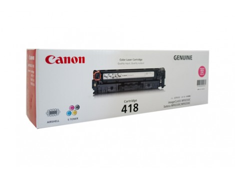 Genuine Canon CART418M Toner Cartridge