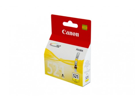 Genuine Canon CLI521Y Yellow Ink Cartridge