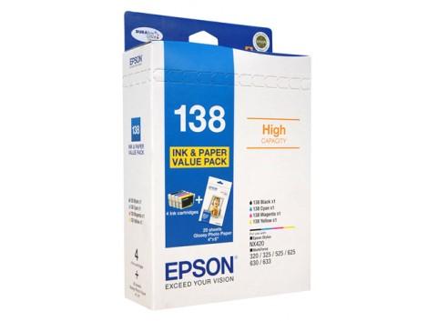 Genuine Epson T1386 Ink Cartridge