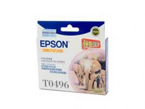 Genuine Epson T0496 Ink Cartridge