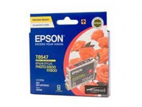 Genuine Epson T0547 Ink Cartridge
