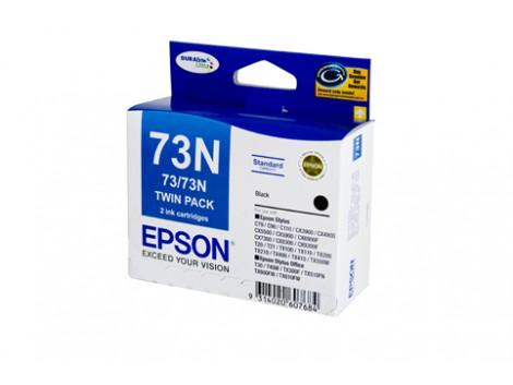 Genuine Epson E73NB-Twin Ink Cartridge