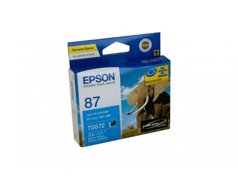 Genuine Epson T0872 Ink Cartridge