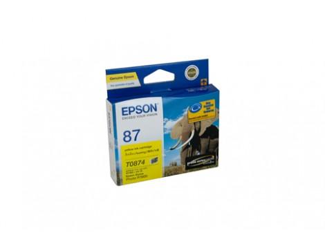 Genuine Epson T0874 Ink Cartridge