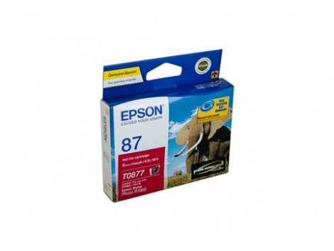 Genuine Epson T0877 Ink Cartridge