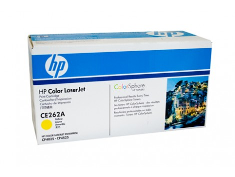 Genuine HP CE262A Yellow Toner Cartridge